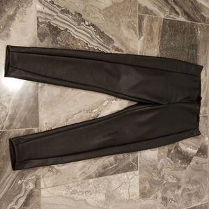 Banana Republic Vegan Leather Devon pants